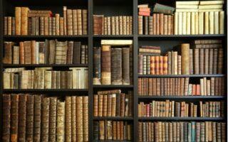 Knižnica nábytok