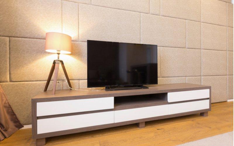 Kombinovaný TV stolík