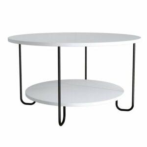 Konferenčný stolík CORRO, biela