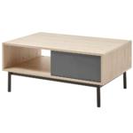 Konferenčný stolík, dub jaskson hickory/grafit, BERGEN BL104