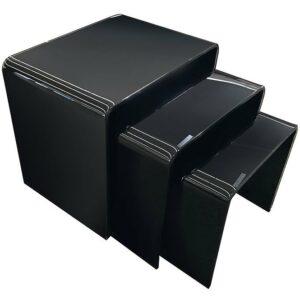 Konferenčný stolík Trio F-NT003 Black 3X