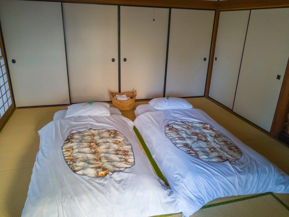 Tradičný japonský futon