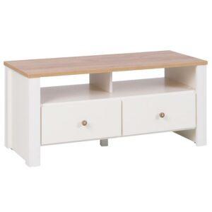 TV stolík 15 Cream/Dub zlatá