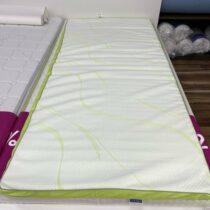 Bielo zelený vrchný matrac Dormeo
