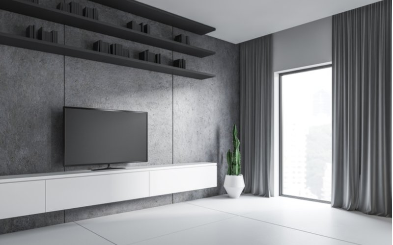 Závesný TV stolík