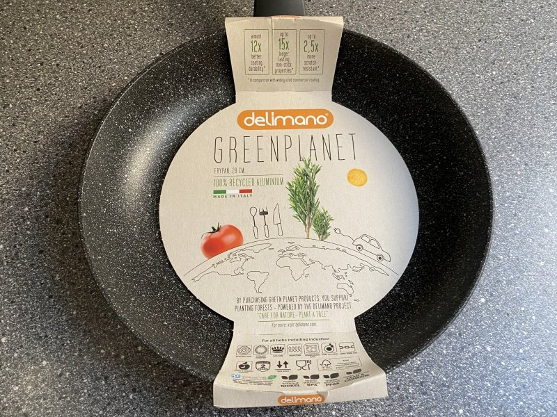 Papierové balenie panvice Delimano Green Planet