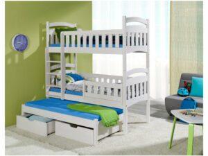 Detská poschodová posteľ Dominik III