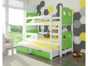 Detská poschodová posteľ Leticia