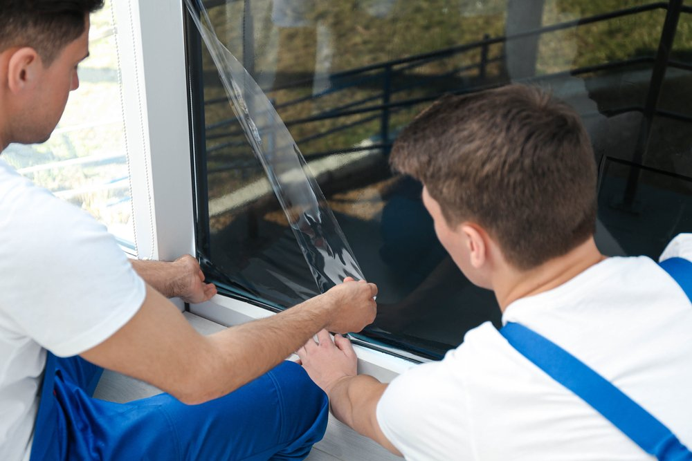 Inštalácia okennej fólie