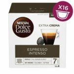 Nescafé Dolce Gusto Espresso Intenso kávové kapsule 16 ks