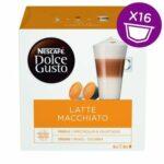 Nescafé Dolce Gusto Latte Macchiato kávové kapsule 16 ks