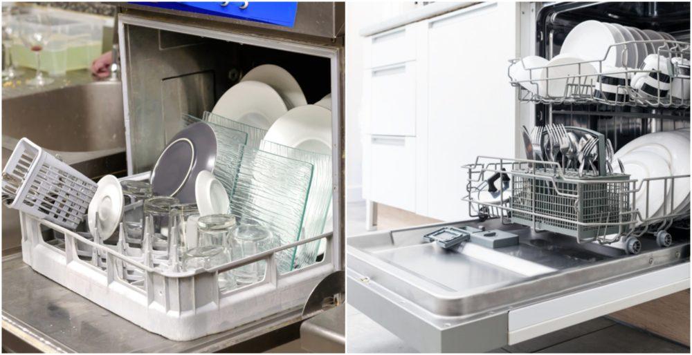 Stolná a klasická umývačka riadu