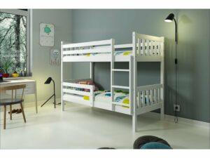 Poschodová detská posteľ Carino 90×200