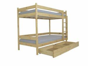 Poschodová posteľ Paula 2 200×90