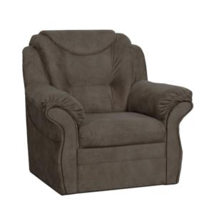 Relaxačné kreslo, hnedá, MORAG