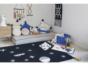 Detský prateľný koberec SPACE 140×200