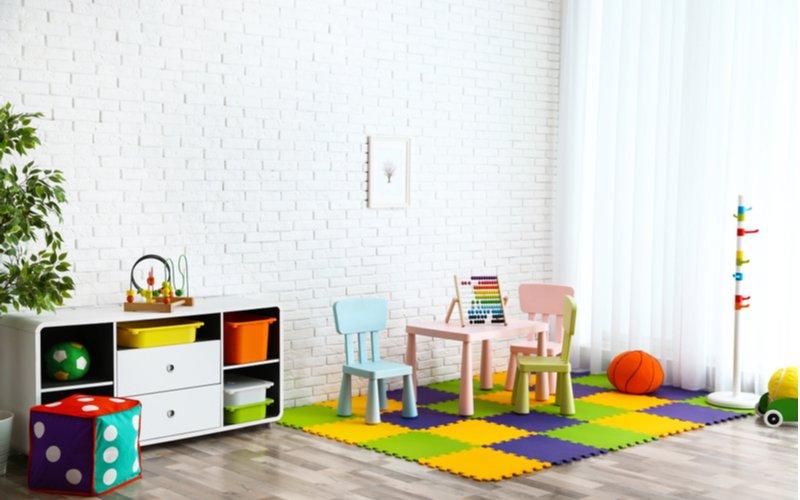 Penový detský koberec