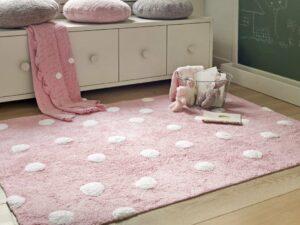 Prateľný koberec Topos Rosa 120×160