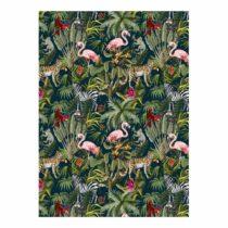 Zelený baliaci papier eleanor stuart Exotic Animals