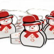 LED Vianočná reťaz 10xLED 1,5m teplá biela